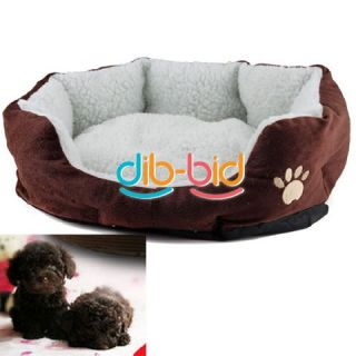 Soft Comfortable Pet Dog Cat Bed Style Sleep Accessories w Mat