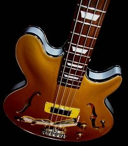 EPIPHONE GIBSON JACK CASADY GOLD TOP BASS By El Daga ONLY ONE