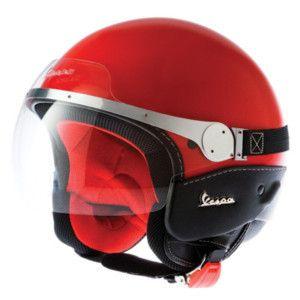 Casco Vespa Granturismo Jet Momo Original Helmet Piel