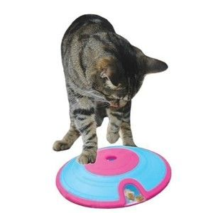 CAT TREAT MAZE INTERACTIVE CAT KITTEN TOY TREAT GAME NINA OTTOSSON