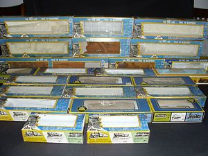 24 AHM Rivarossi 1 Bachman HO Scale Model Boxes w Cash Receipts