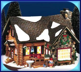 Department 56 Snow Village Cedar Point Cabin