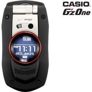 Casio GzOne Boulder Waterproof Camera Cell Phone No Contract EXTERNAL
