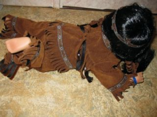 Cathay Collection Native American Indian Doll 15 596 of 5000