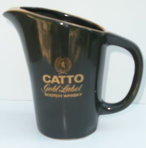 Catto Gold Pub Jug Green Color Liquor Water Pitcher