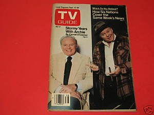 TV Guide Magazine September 22 1979 Carroll OConnor