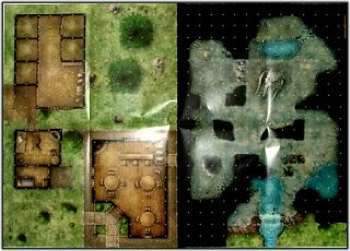Maps Lost Trail Hidden Cave Cottage Old Chamber Dungeons Dragons