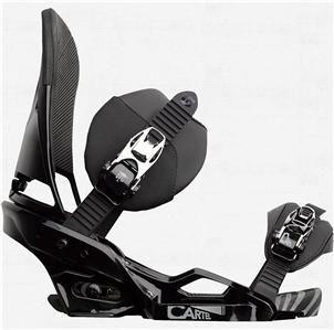 nib 2013 burton cartel est men s snowboard bindings asphalt size large