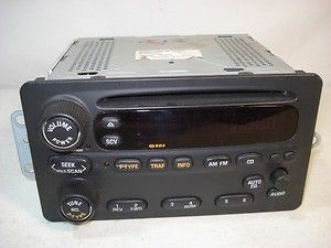 Electronics Part No 22669641 CD Player Radio OEM 01 02 03 04 Alero