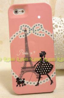 Kate Spade The Eiffel Tower Lovely Girl Hard Case Cover Gift