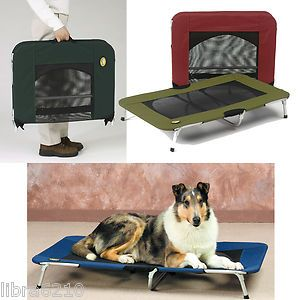 Elevated Pet Cot Dog Cat Bed Small Medium Large XL ItZ A Breeze Too