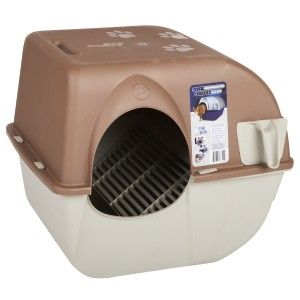 Omega Paw Self Cleaning Rollaway Cat Litter Box Large