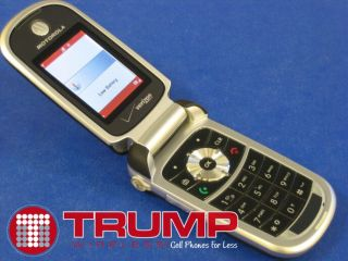 Motorola V325 Cell Phone Verizon Camera CDMA Speaker Good Warranty