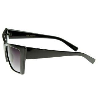 High Pointed Cat Eye Sunglasses Sharp Geometric Square Frame Cateyes