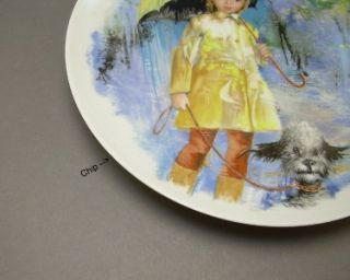 Paul Durand Children Collection Limoges Porcelain Collector Plates