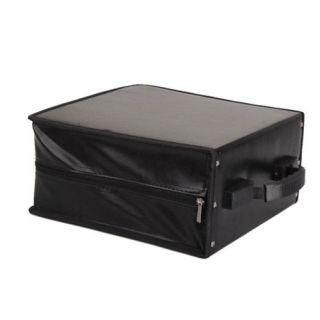 400 Capacity CD DVD Wallet Case Storage Bag Black Music Album