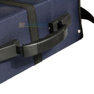 320 Disc CD DVD Wallet Holder DJ Storage Case Bag Album Oxford Cloth