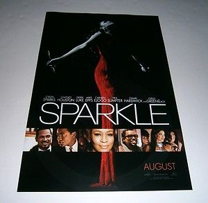 Poster Mini One Sheet Whitney Houston Jordin Sparks Ceelo Green