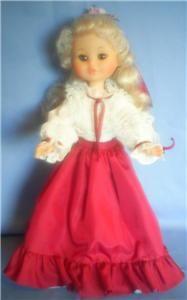 Furga Vintage Doll Le Damine Cecilia Original Clothing/ Boots/Box