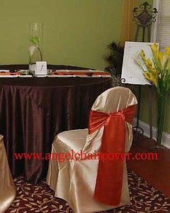 wedding table linen banquet folding chair cover sash napkin   rental