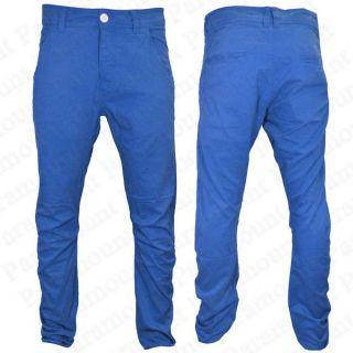 Pantalon Homme Raiken Jean Couleur Uni Couple Slim Moulant Bleu Rougle