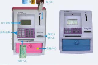 ATM Bank Money Saving Boxes Toy ATM Money Savings Bank