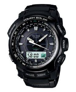 Casio Mens PROTREK Atomic Solar Watch PRW5100 1