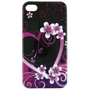 iPhone 4 4S designer Heart cell phone cover case protector accessories