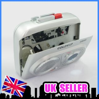 Portable Cassette Tape Player Walkman Recorder FM Radio