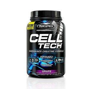 MuscleTech Performance Series Cell Tech Grape 3 lbs Creatine New