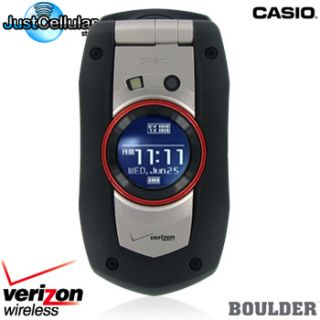 Boulder C711 Waterproof Camera Cell Phone No Contract [VERIZON] used