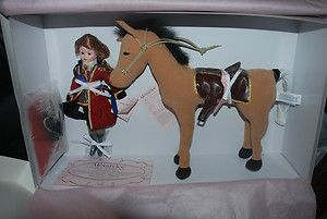 Catherine The Great 10 Doll Stuffed Horse by Madame Alexander New