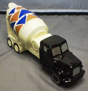 Cement Mixer Truck Avon Collectable Bottle Full