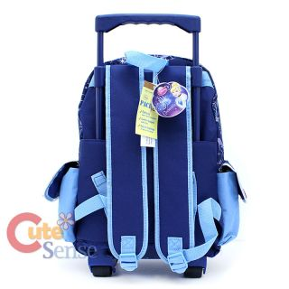 Disney Princess Cinderella School Roller Backpack Large Rolling BAG 4