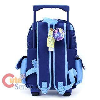 Disney Princess Cinderella School Roller Backpack Large Rolling BAG 4