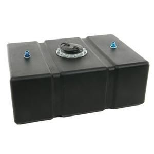 Summit Racing Circle Track Fuel Cell 16 Gallon Plastic Black