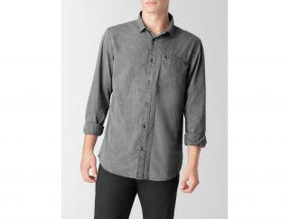 Calvin Klein Microcheck Casual Shirt Mens
