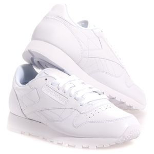 Reebok Mens CL Leather Leather Casual Casual Shoes