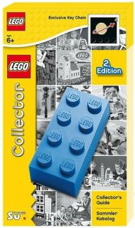 Lego Collectors Guide Exclusive Key Chain with Classic Logo English