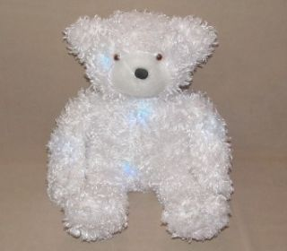 16 Cepia Color Kinetics Light Up Glow Glo E Teddy Bear Plush White
