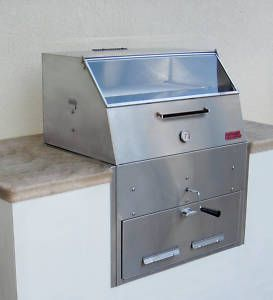 Hasty Bake 270 Fiesta Stainless Steel Charcoal Grill New