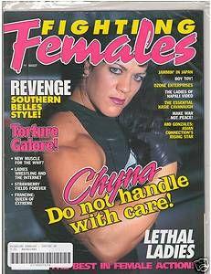 Wrestling Magazine Divas Chyna Kasie Cavanaugh Spring 1998