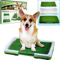 Dog Cat Litter Potty Patch Pad Mat Toilet Trainer Tray