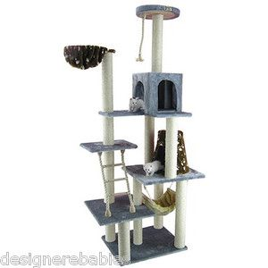 Armarkat Cat Perch Bed Scratching Tree Kitty Condo A7802 Brand New