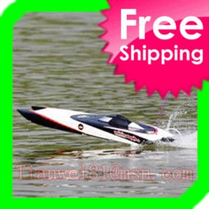 Catamaran Fiberglass Twin Brushless Motor RC Speed Boat
