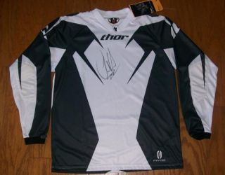 Chad Reed Signed Thor Phase Jersey Adult Medium