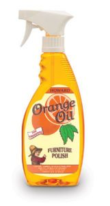 Howard Furniture Care Orange Polish Cleaner Oil 16oz