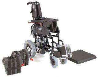 Active Care Wildcat Folding Power Chair Electric Wheelchair 18 Seat