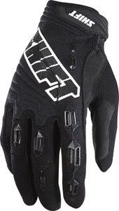 New Shift Racing MX Faction Black White Chad Reed Gloves Mens Adult
