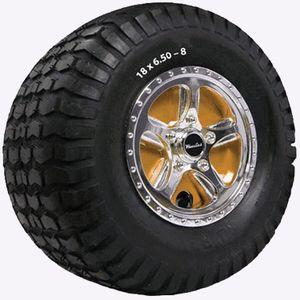 Meteor Lawn Tractor Mower 6 Custom Wheeles Wheel Covers set of 2